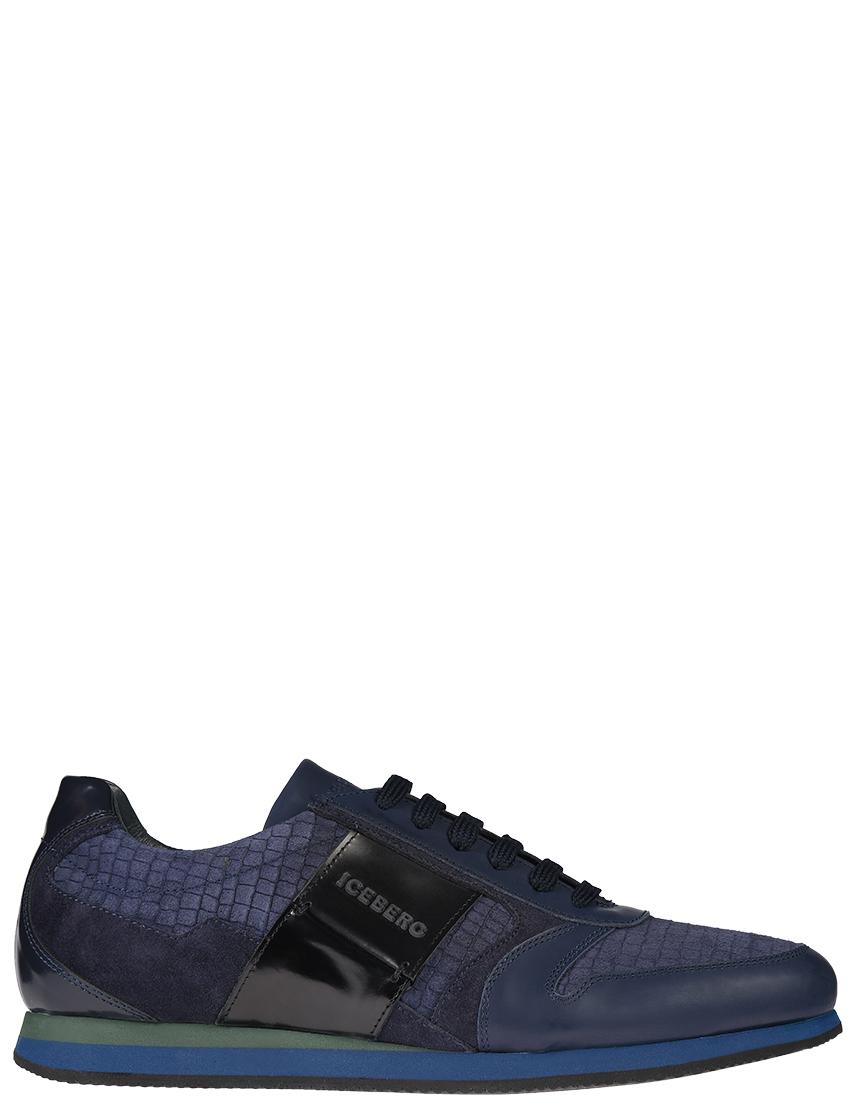 Мужские кроссовки Iceberg 3991_blue