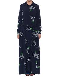 Женское платье ANONYME U17SD026-Blue