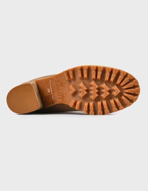 женские бежевые  Ботинки Le Silla 7406R080 - фото-5