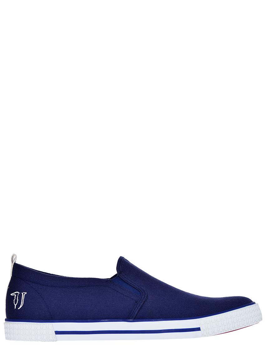 Фото - мужские кеды  синего цвета