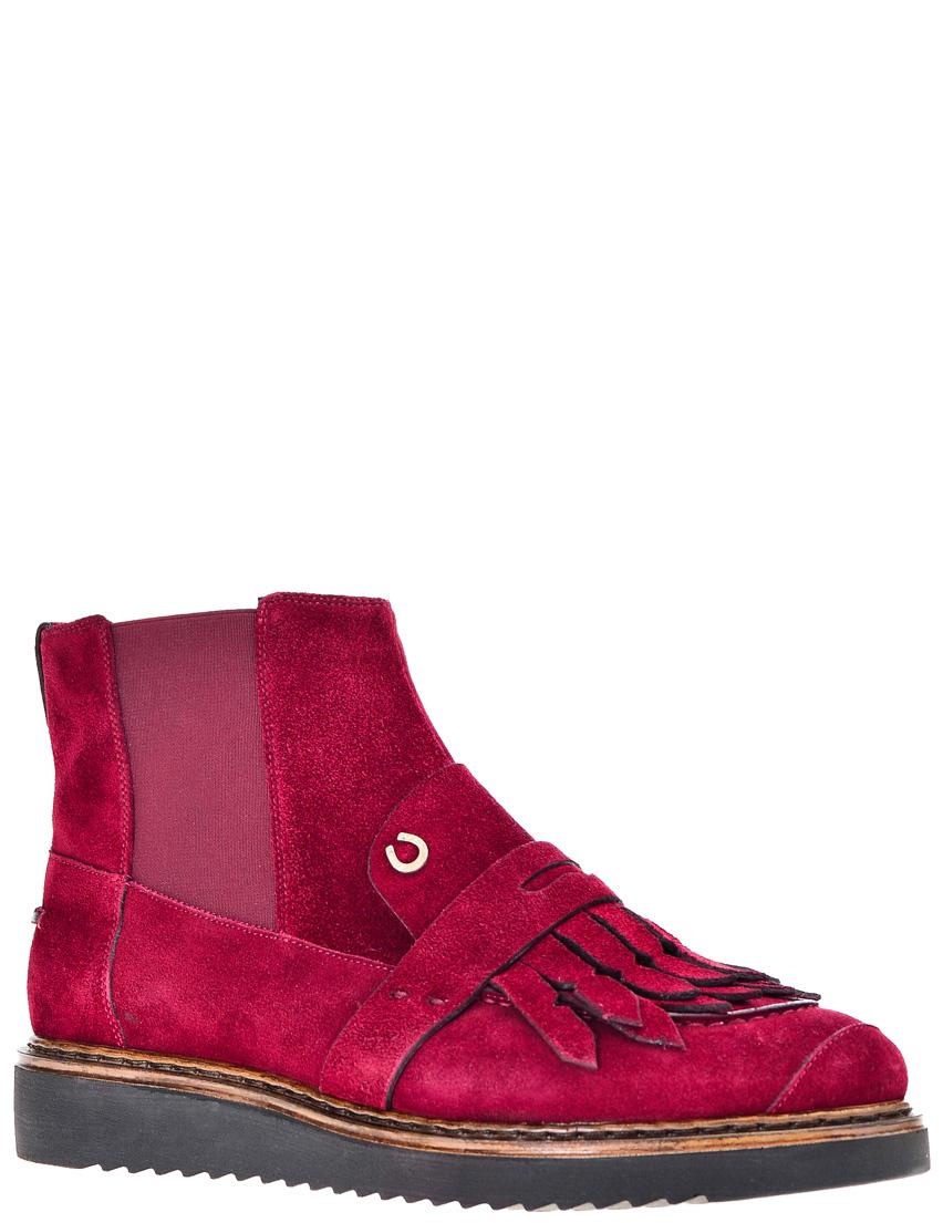 Купить Ботинки, PALAGIO, Бордовый, Осень-Зима