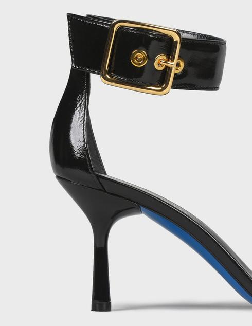 женские черные Босоножки Loriblu 1EA7014300_NERO - фото-6