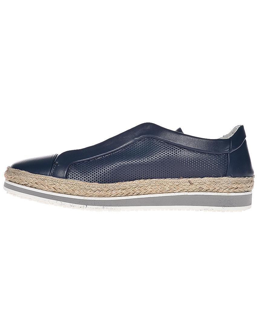 Фото 3 - мужские кроссовки  синего цвета