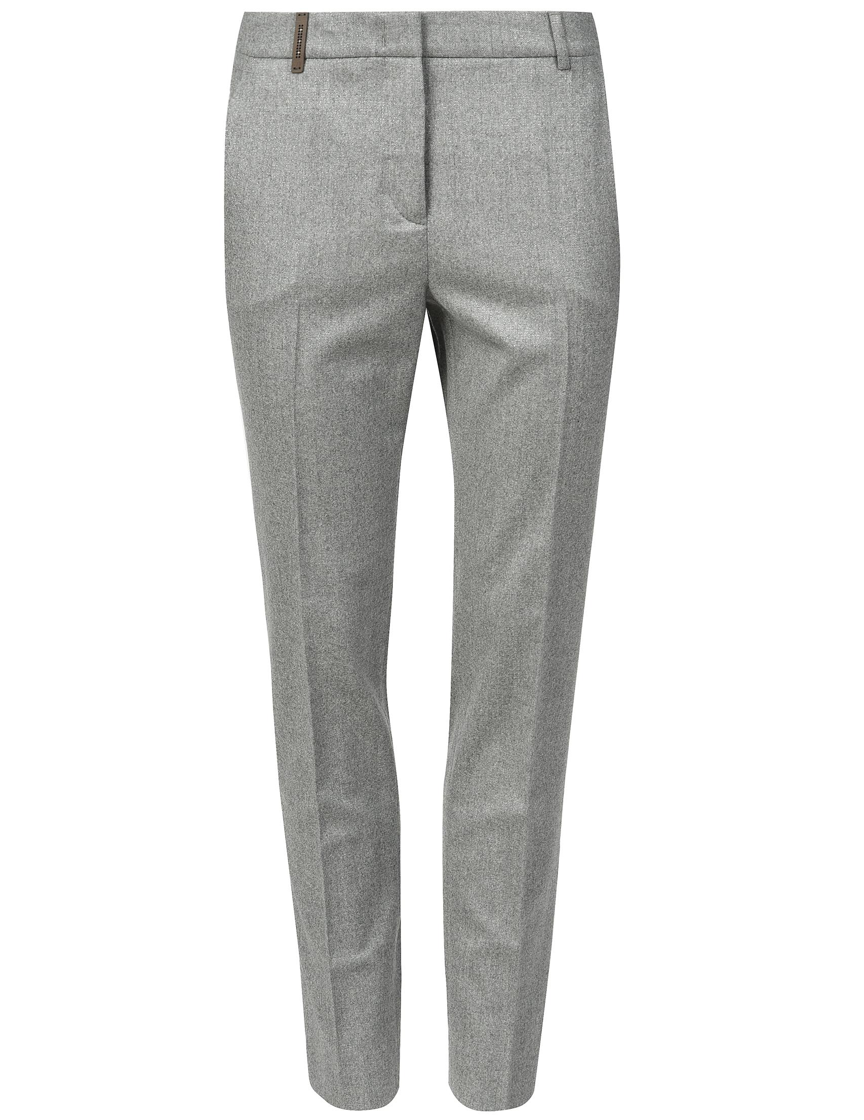 Женские брюки PESERICO 04707_gray