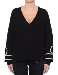 Женский пуловер ONETEASPOON 19792-black