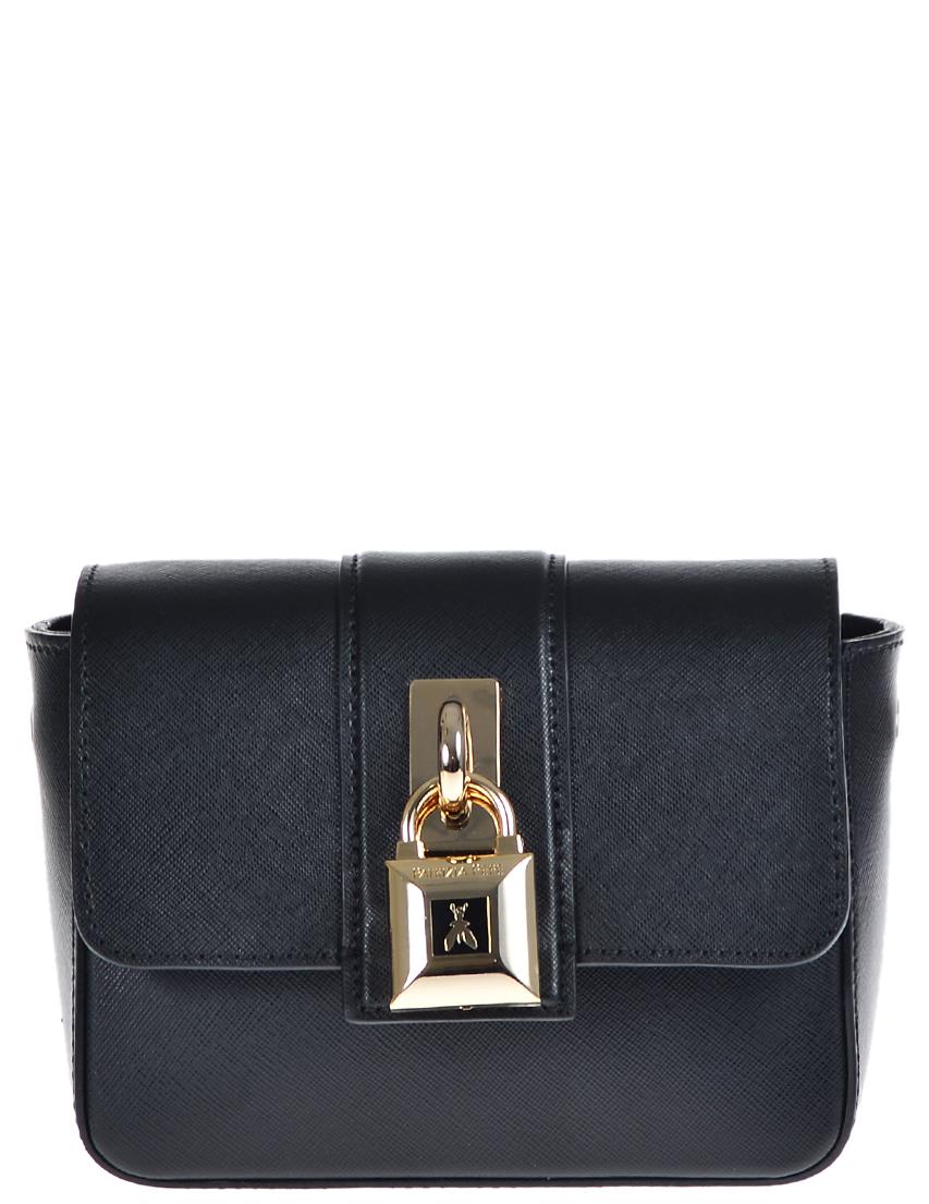 Купить Женские сумки, Сумка, PATRIZIA PEPE, Черный, 100%Экокожа, Осень-Зима
