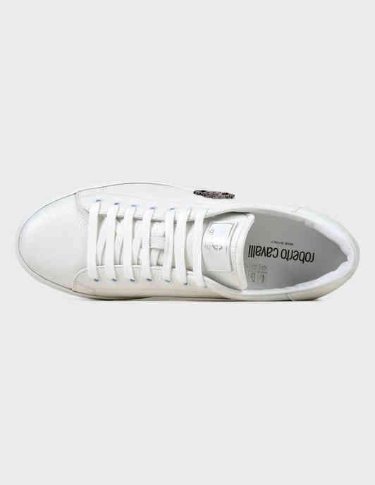 белые Кеды Roberto Cavalli 1000ОЛ-white размер - 40; 42; 43; 44