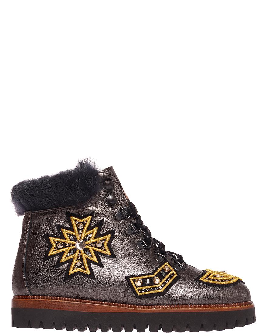 Купить Ботинки, EDDY DANIELE, Золотой, Осень-Зима