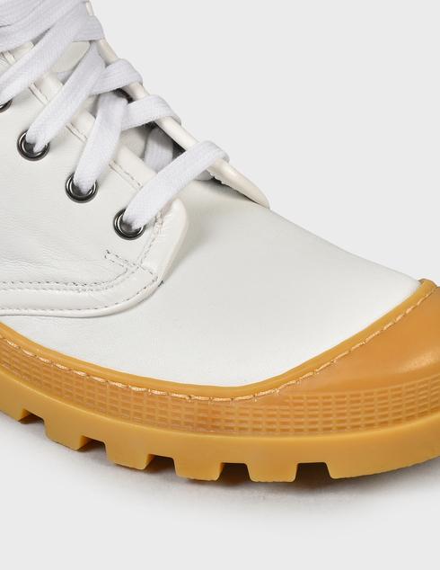 женские белые Ботинки Baldinini D2BS28NAPI9002 - фото-6
