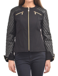 Женская куртка VERSACE JEANS 555-899-black