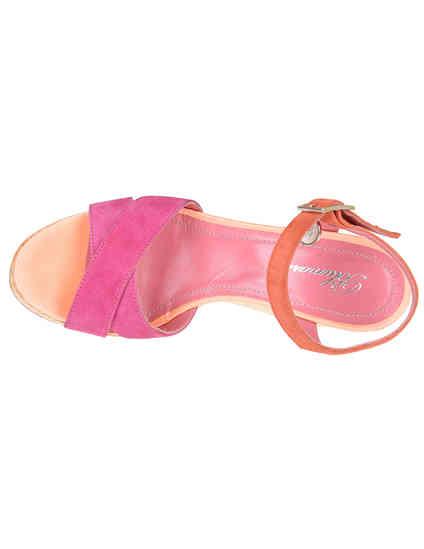 розовые Босоножки Blumarine 4330-З-fuxia-orange_pink размер - 35; 37; 38