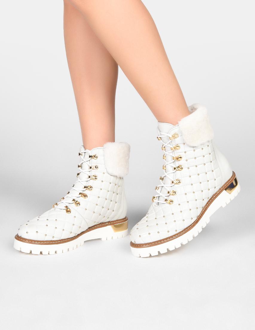Женские ботинки LEstrosa AGR-26_white