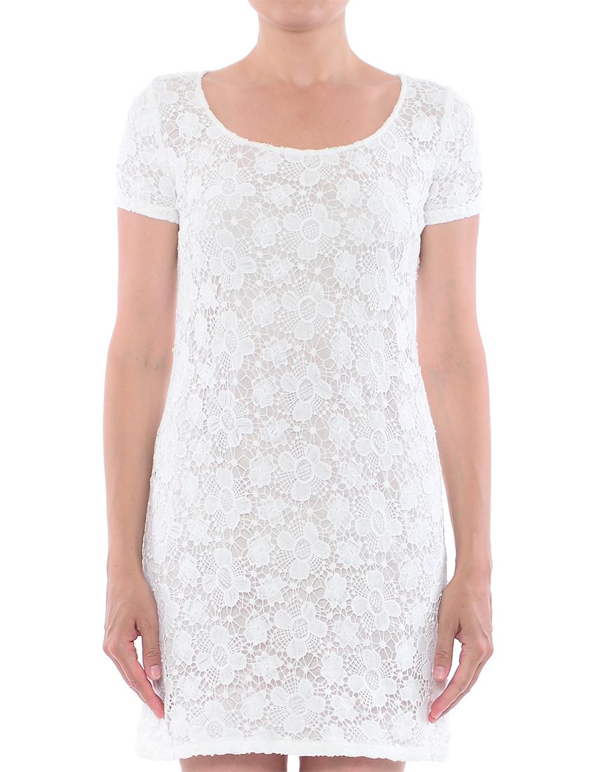 Купить Платье, PATRIZIA PEPE, Белый, 100%Хлопок;70%Ацетет 30%Плиэстер, Весна-Лето