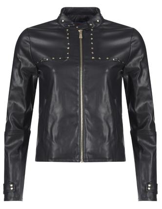 TRUSSARDI кожаная куртка