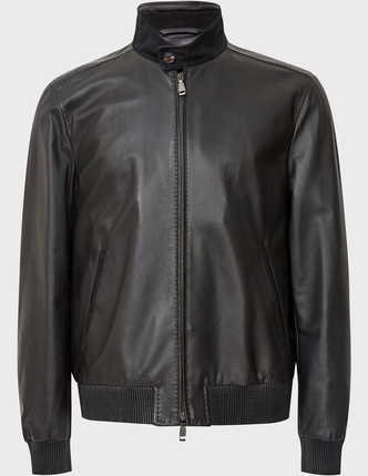 BRIONI кожаная куртка