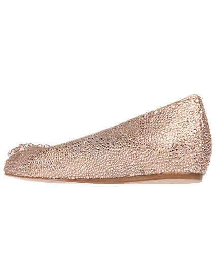 золотые женские Балетки Le Silla 17020_gold 15655 грн