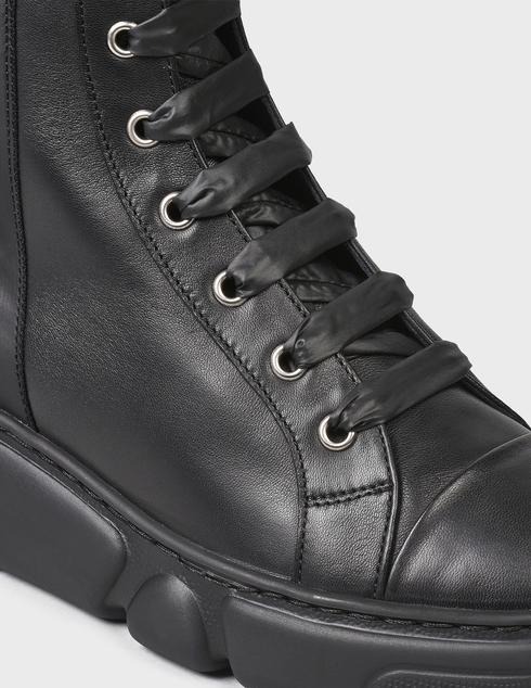 женские черные Ботинки Agl D938505BGKA0761013 - фото-6