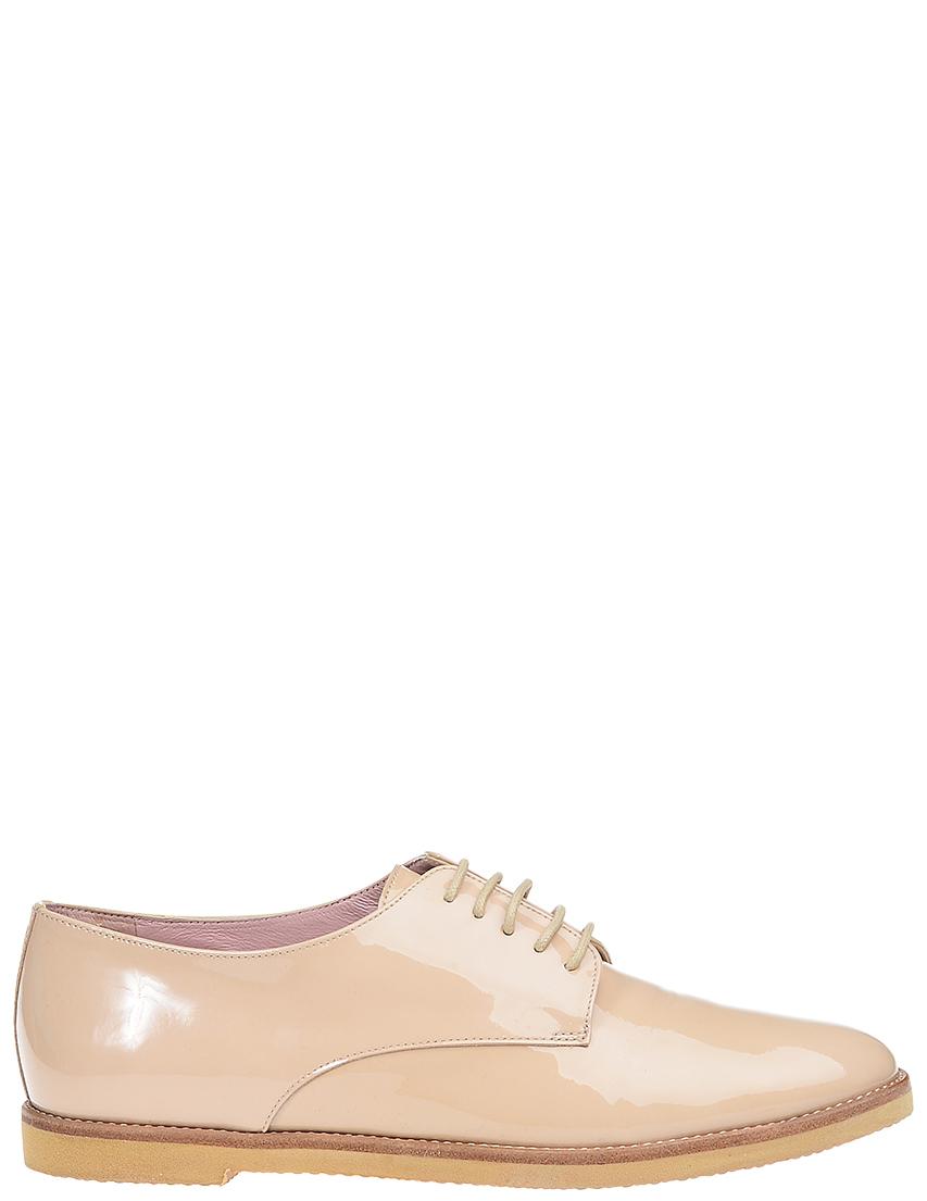 Женские дерби Pretty Loafers 43724_beige
