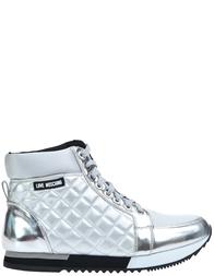 Женские ботинки LOVE MOSCHINO 15243_silver