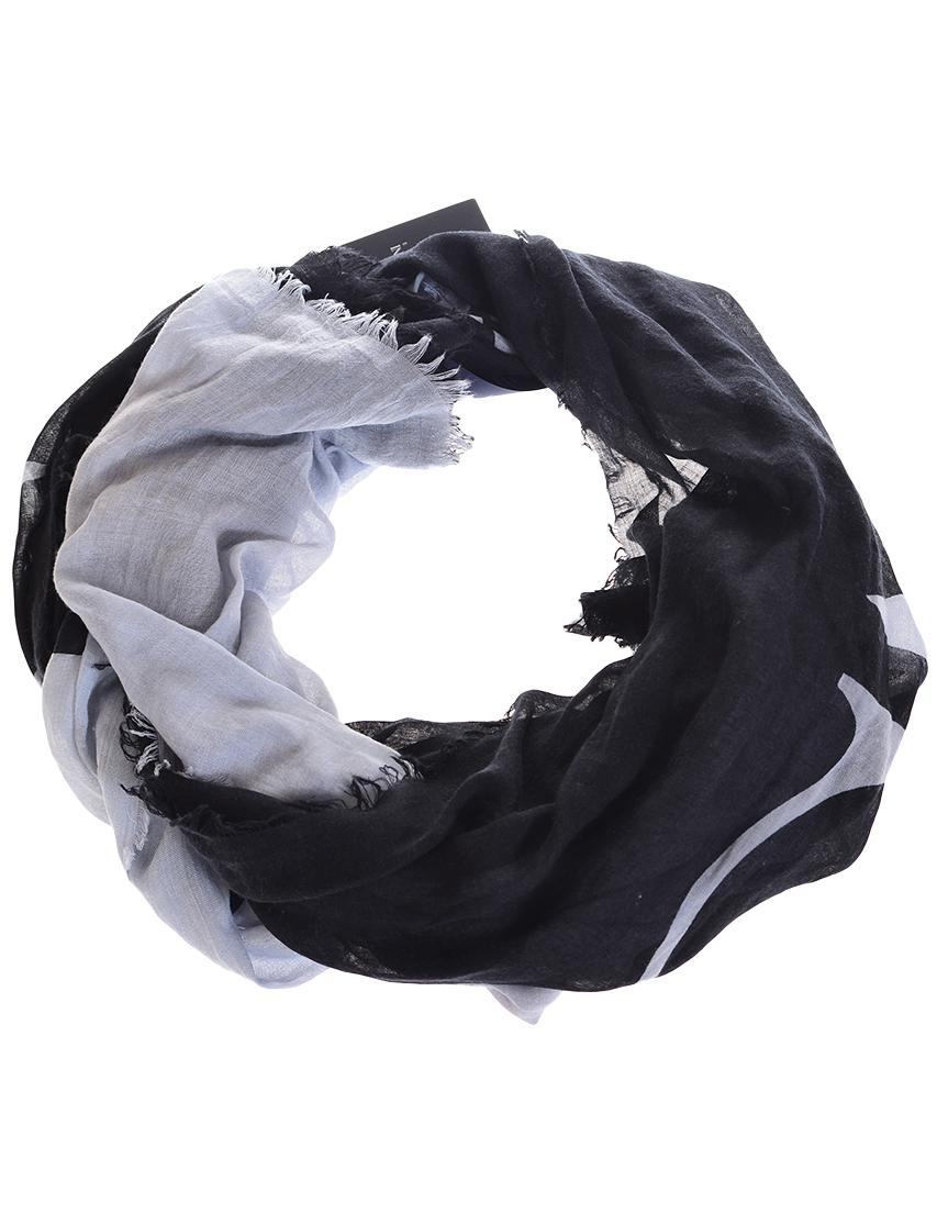 Женский шарф ARMANI JEANS 924141-grey-logo