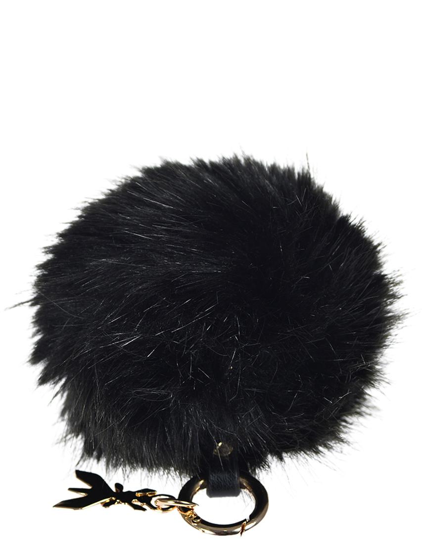 Купить Аксессуар к сумке, PATRIZIA PEPE, Черный, 100%Мех, Осень-Зима