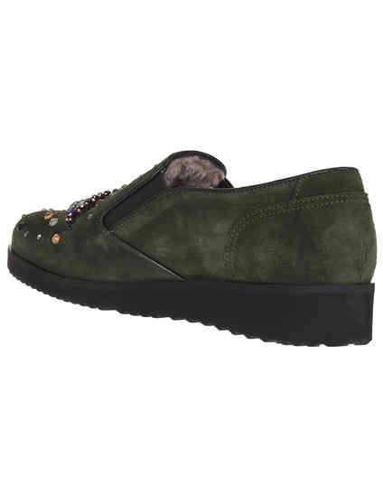зеленые женские Слипоны Marzetti Т-71277-strass_green 4775 грн