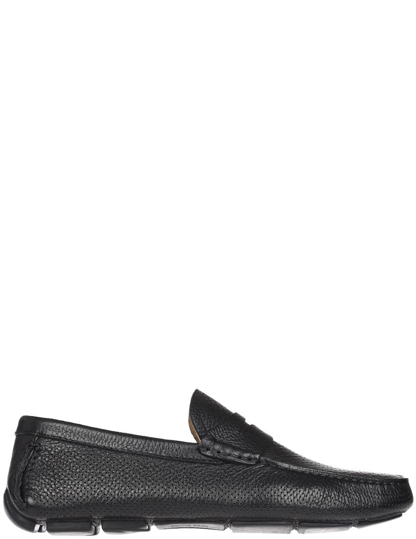 Мужские мокасины Brecos S7876_black