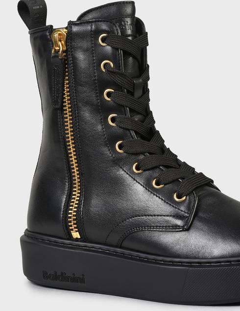 женские черные Ботинки Baldinini AGR-D2BG09NAPP0000 - фото-7