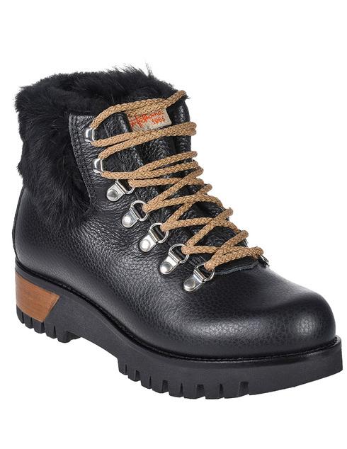 женские черные Ботинки Montelliana MNTL4_997-BLACK - фото-2