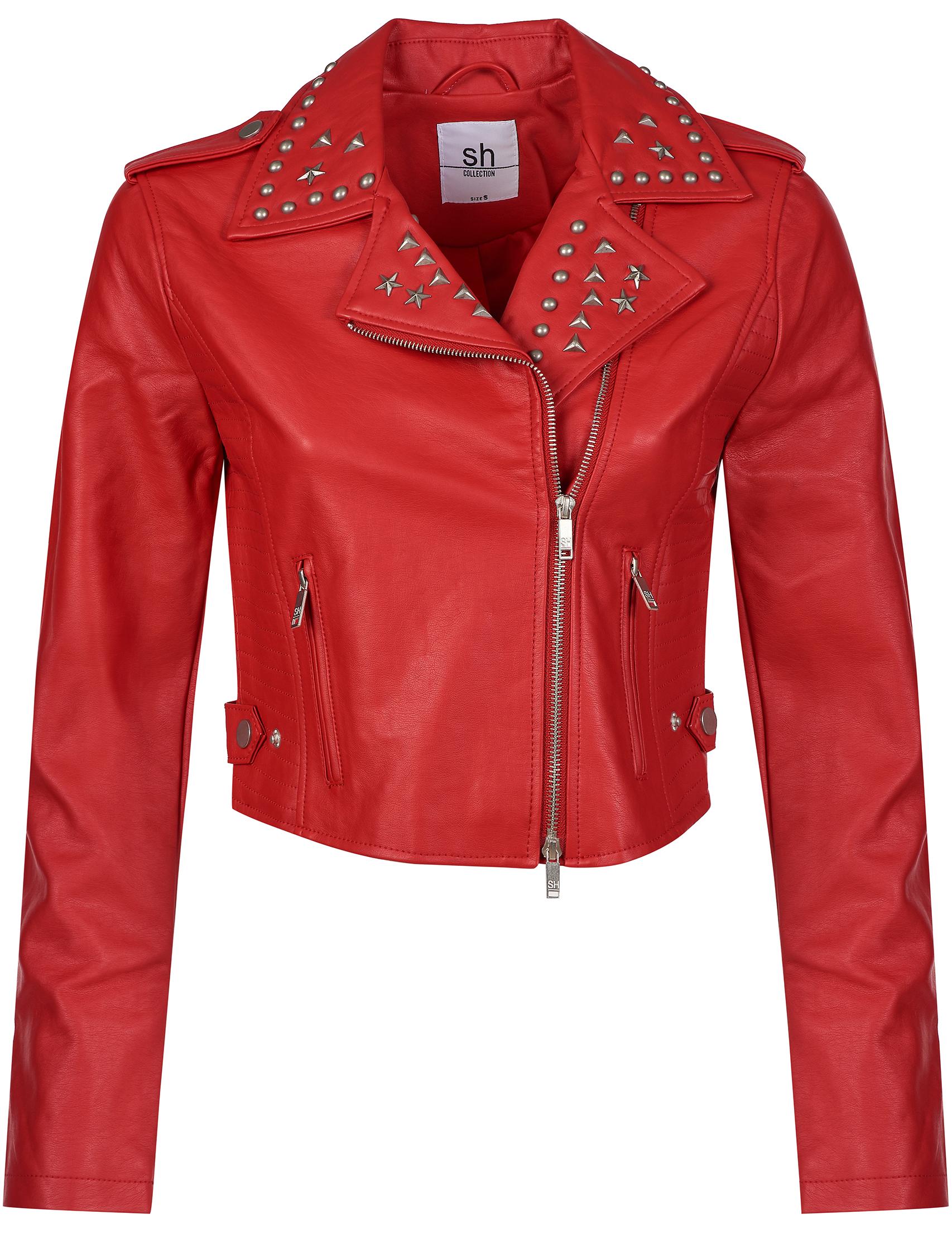Купить Куртки, Куртка, SILVIAN HEACH, Красный, 100%Полиуретан;100%Полиэстер, Осень-Зима