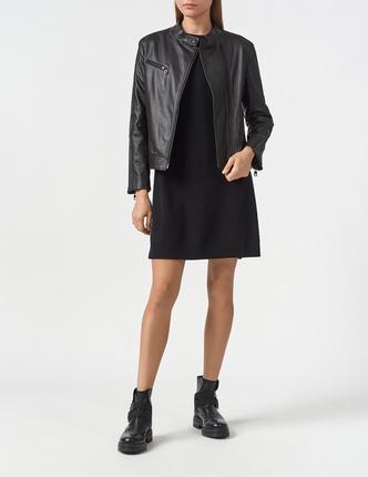 EMPORIO ARMANI кожаная куртка