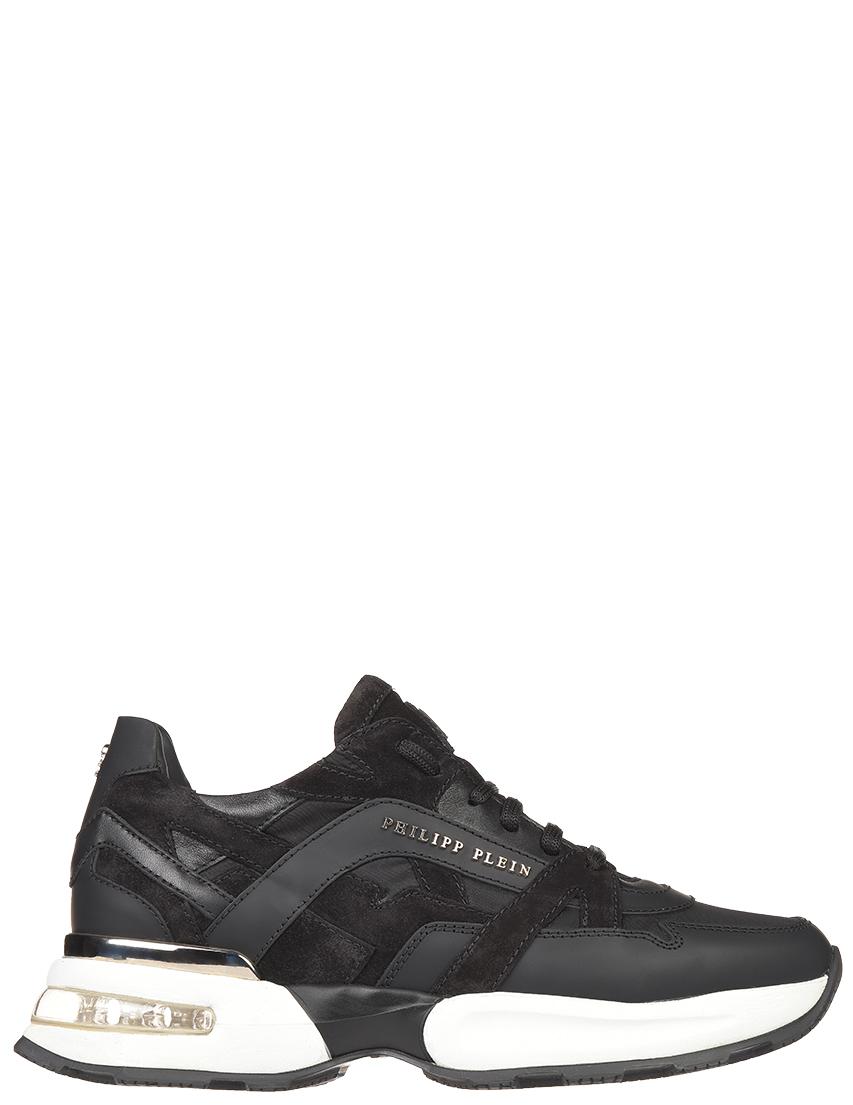 Мужские кроссовки Philipp Plein 1660_black