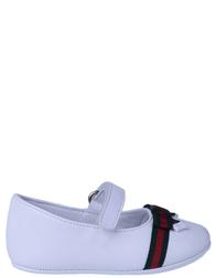 Детские туфли для девочек GUCCI 311502BKPDO9088_white