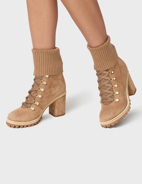 бежевые Ботинки Le Silla 7406R080