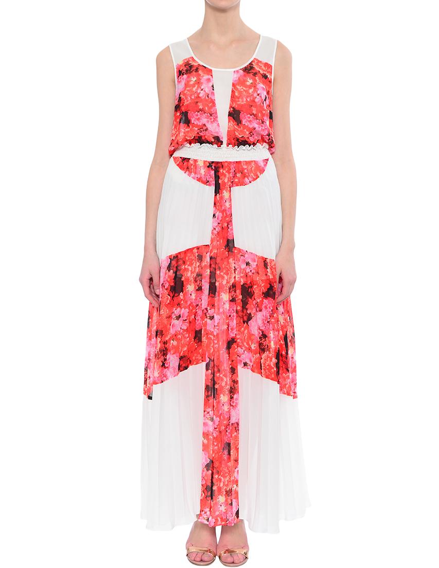 Купить Платья, Платье, PATRIZIA PEPE, Многоцветный, 100%Полиэстер, Весна-Лето