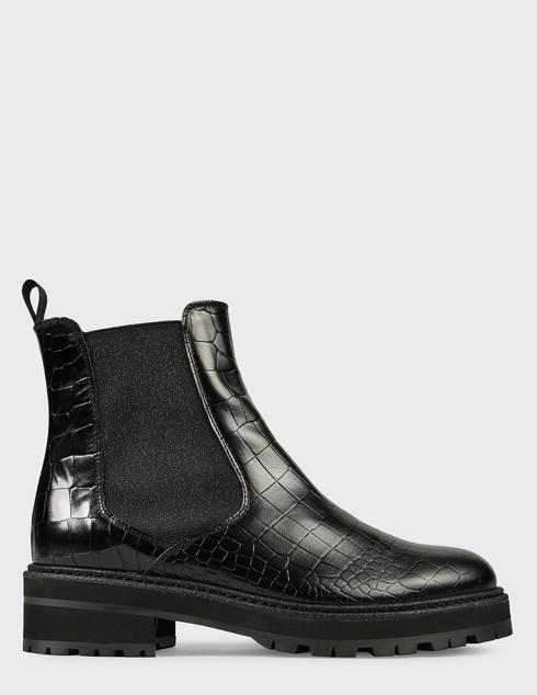 женские черные Ботинки Pertini 202W30359D1 - фото-6