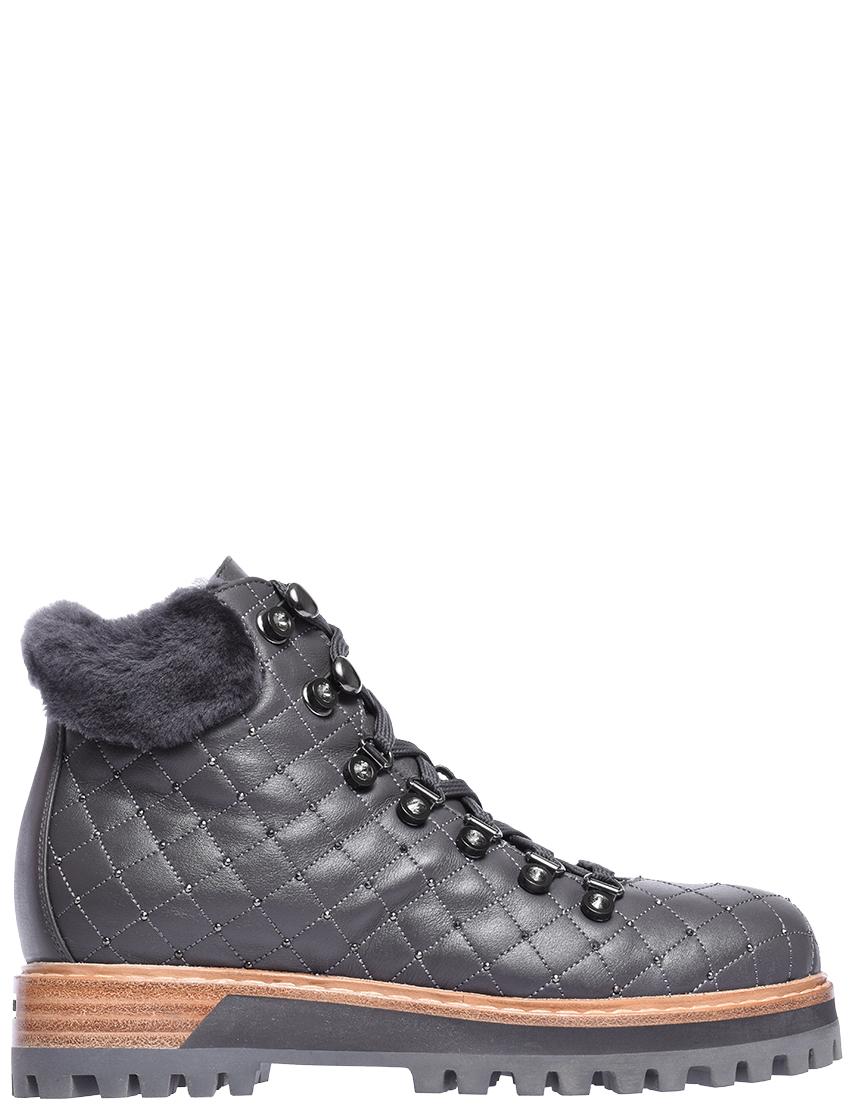 Купить Ботинки, LE SILLA, Серый, Осень-Зима