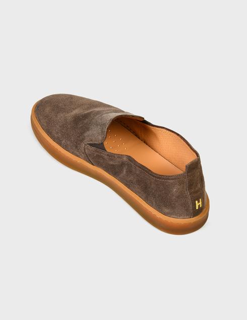 мужские коричневые Слипоны Henderson Baracco AGR-RODI.0 - фото-2