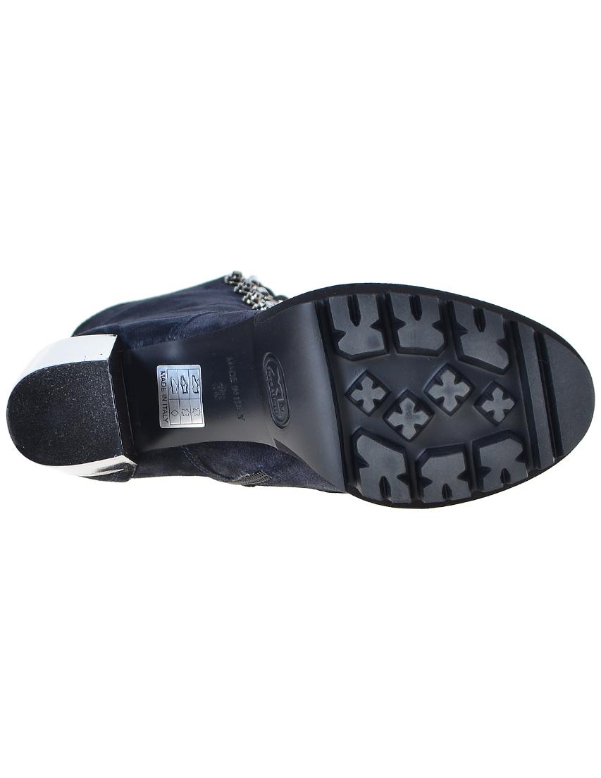 Фото 6 - женские ботинки и полуботинки  синего цвета