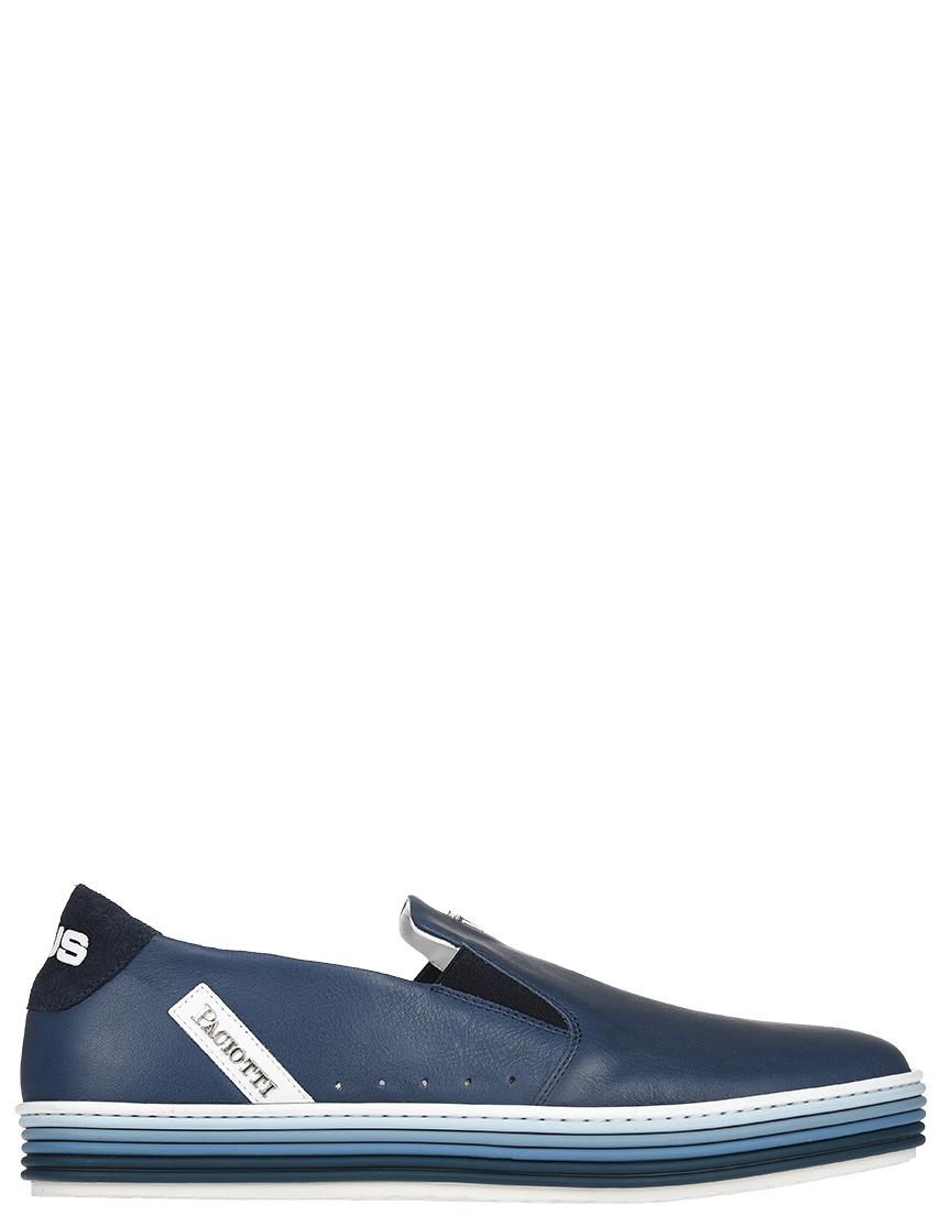 Мужские слипоны 4US Cesare Paciotti FU3SZ_blue