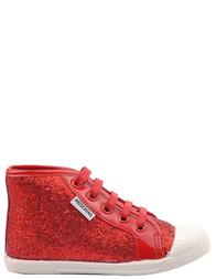 Детские кеды для девочек MOSCHINO 25371-red
