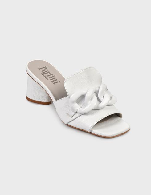 белые Шлепанцы Pertini 201W16636D3
