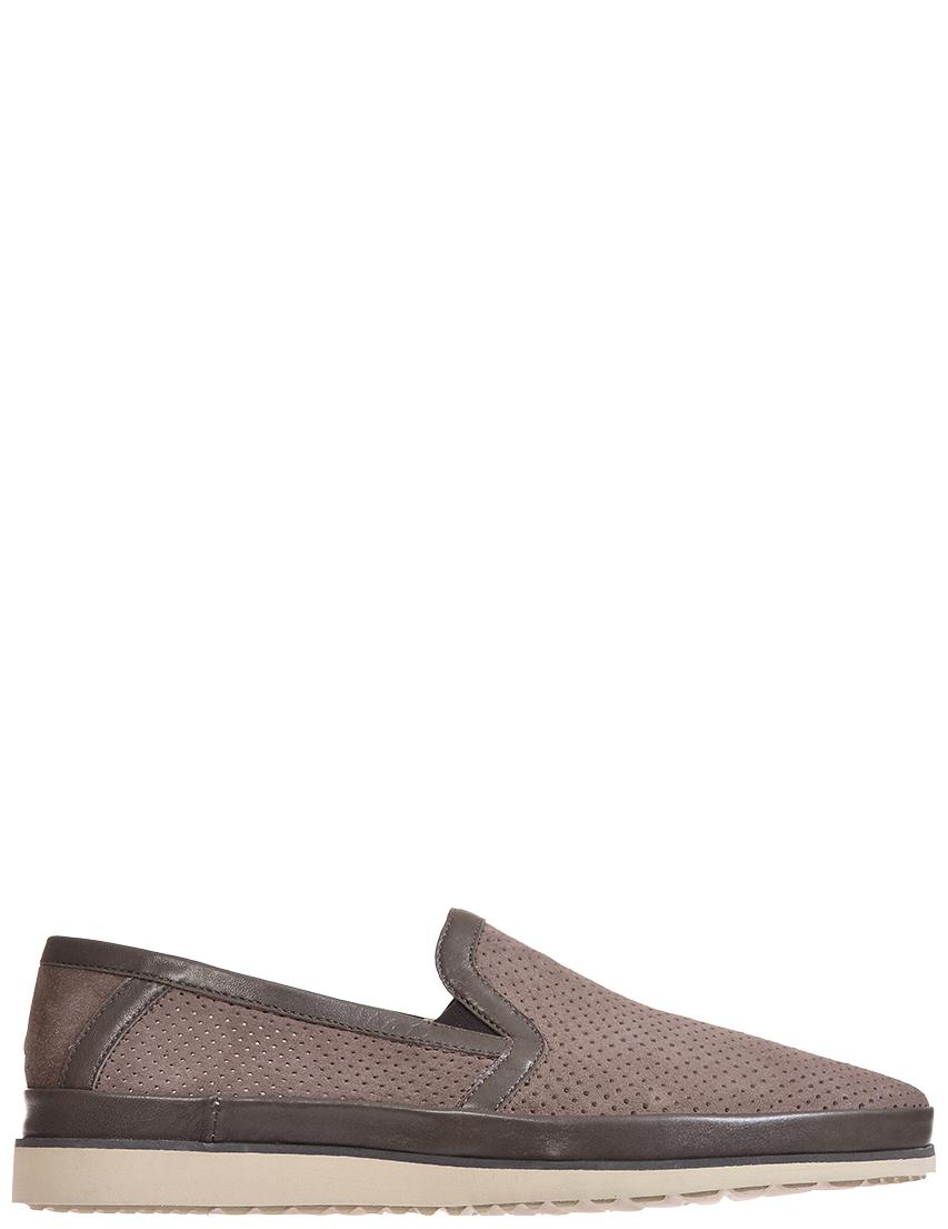 Мужские слипоны Luca Guerrini 9074-fango-brown