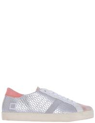 Женские кеды D.A.T.E. W261-HL-PG-silver-pink