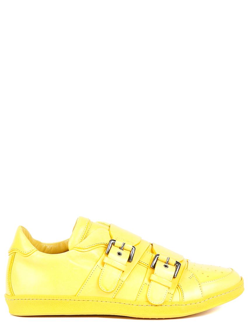 Купить Кроссовки, DSQUARED2, Желтый, Осень-Зима