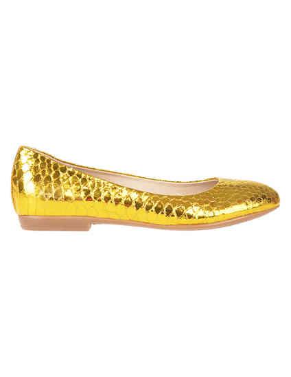 золотые женские Балетки Renzi 501112А_gold 2200 грн
