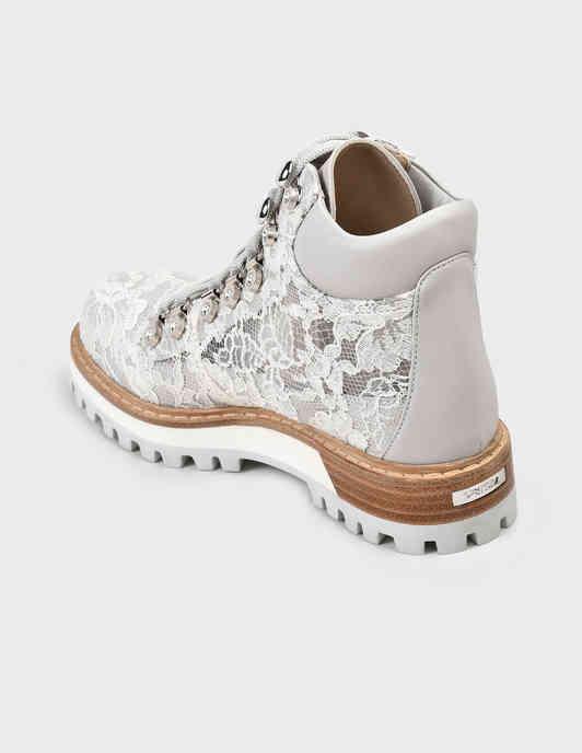 серые женские Ботинки Le Silla 502-gray 18125 грн