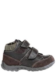 Детские ботинки для мальчиков ASSO 19707-BROWN