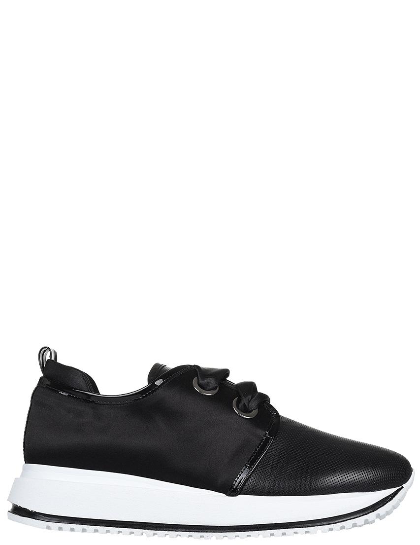 Кожаные чёрные кроссовки DIGIADA (ITALY)