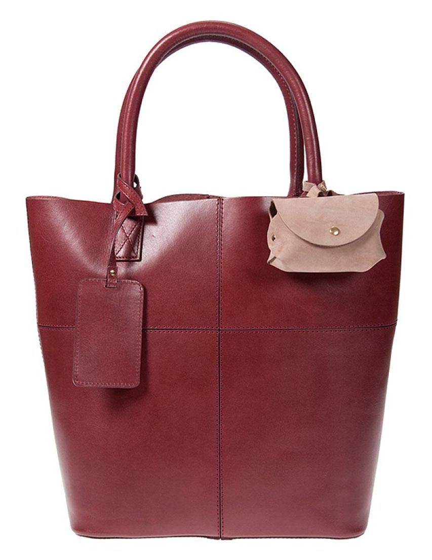 Купить Женские сумки, Сумка, DUU, Бордовый, Весна-Лето